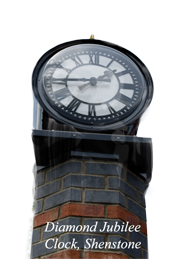Shenstone Diamond Jubilee Clock © Evans photography of Shenstone, Lichfield Staffordshire